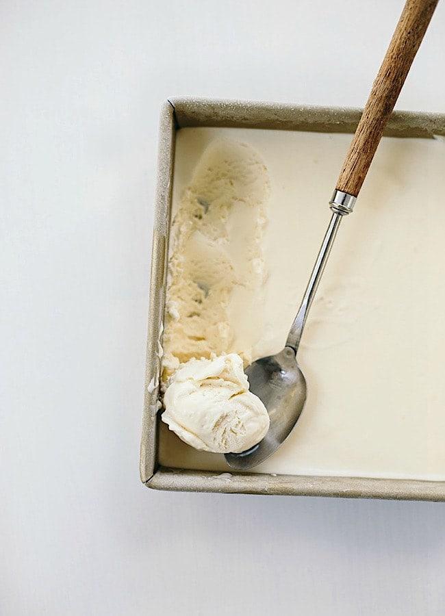 Vanilla No-Churn Ice Cream