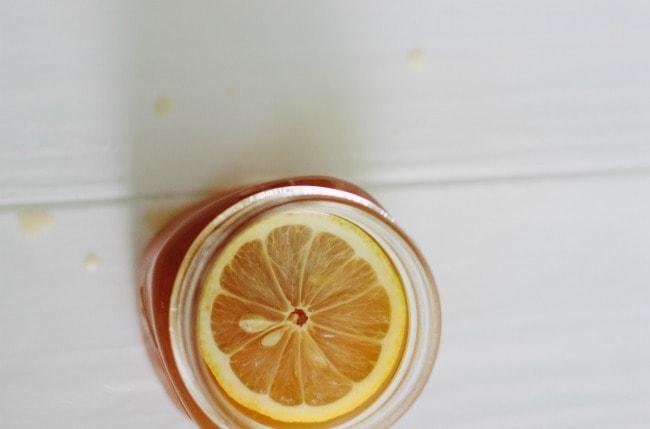 black tea lemonade | the vanilla bean blog