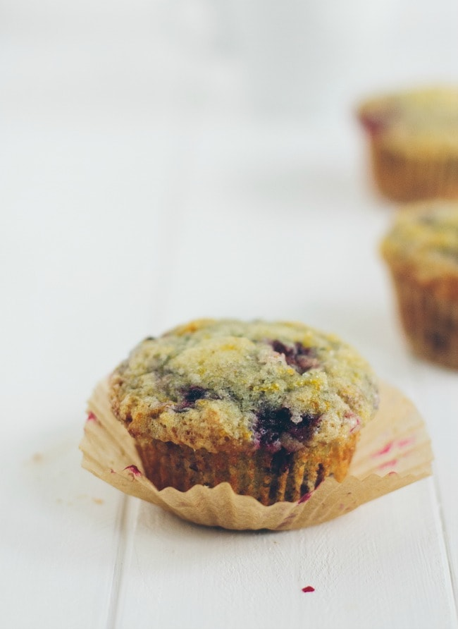 blackberry orange muffins | the vanilla bean blog