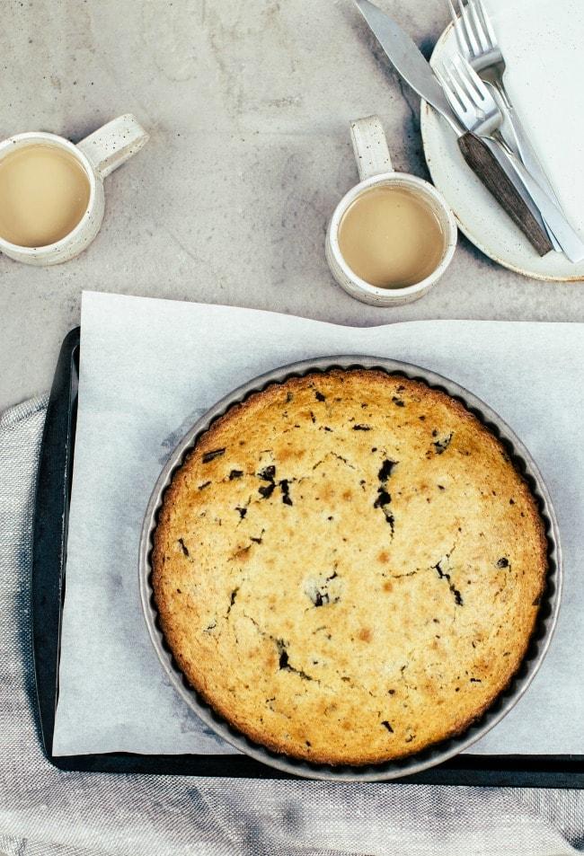 Olive Oil Cake with Bittersweet Chocolate and Rosemary | Sarah Kieffer | The Vanilla Bean Blog
