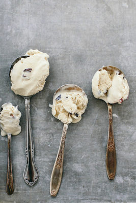 Coffee No-Churn Ice Cream with Cacao Nibs