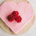 chocolate cake with raspberry buttercream | the vanilla bean blog