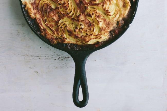 forager's pie | the vanilla bean blog