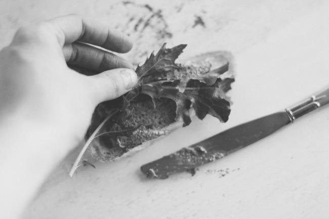 simple mushroom pâté | the vanilla bean blog