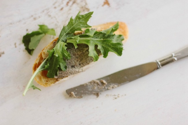 ... Bean Blog | simple mushroom pâté (or, mushroom goat cheese spread