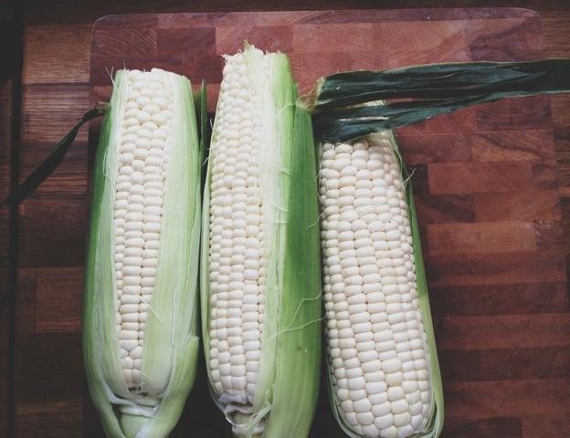 Corn and Poblano Orzo