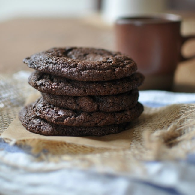 Blue Bottle's Double Chocolate Cookies |  turntable kitchen