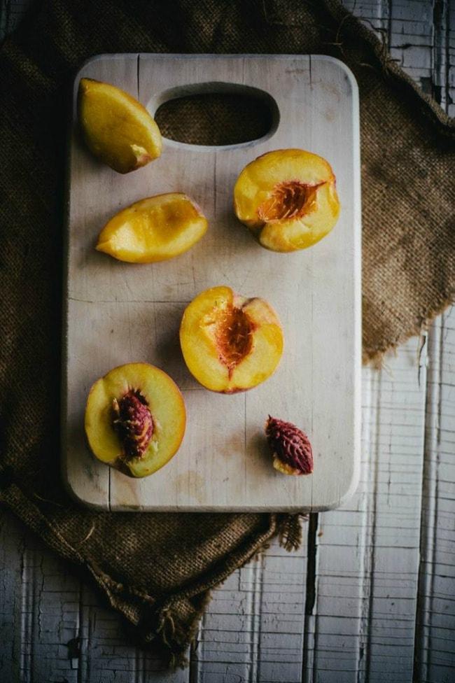Blackberry + Peach Buttermilk Biscuit Cobbler | Local Milk
