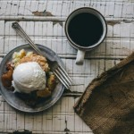 Blackberry + Peach Buttermilk Biscuit Cobbler | guest post from {local milk}
