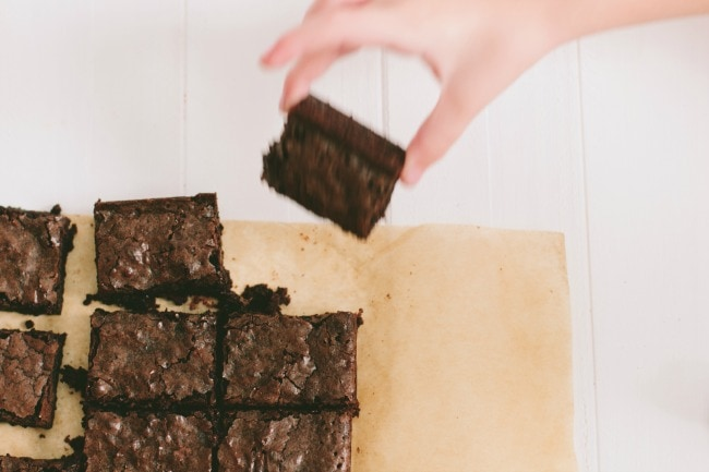 really good brownies + a giveaway | the vanilla bean blog
