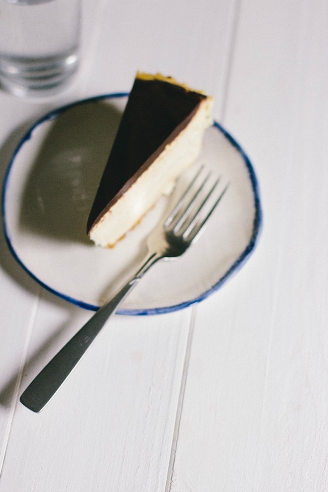 frangelico cheesecake with cacao nib crust