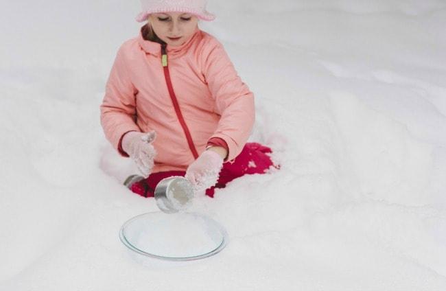 snow cream   the vanilla bean blog