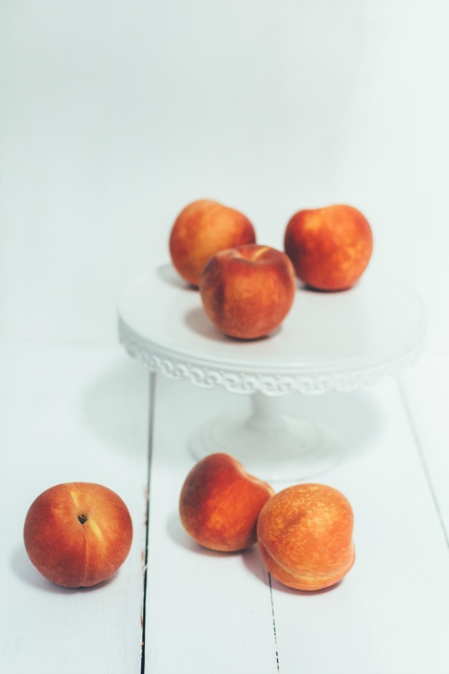 Peaches   The Vanilla Bean Blog   Sarah Kieffer