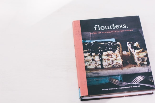 flourless. cookbook