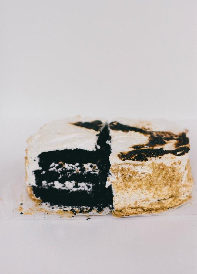 S'more Cake | The Vanilla Bean Blog | Sarah Kieffer