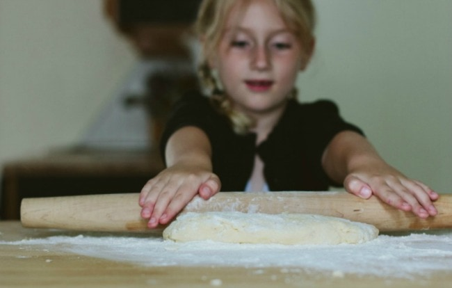 Rolling Out Scone Dough | Sarah Kieffer | The Vanilla Bean Blog