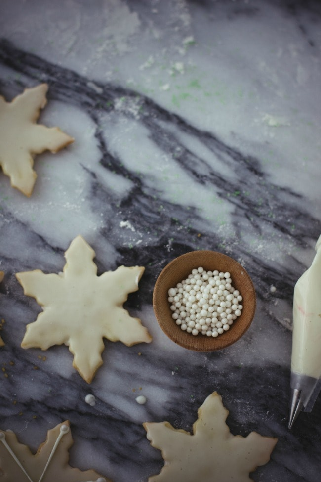 holiday cut-out cookies | the vanilla bean blog