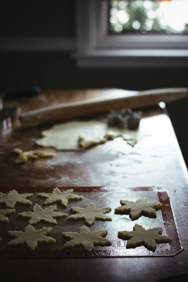 Cut Out Holiday Cookies on Silpat | The Vanilla Bean Blog | Sarah Kieffer