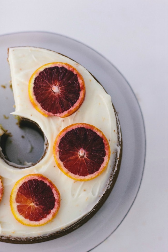 Grand Marnier Orange Cake | Sarah Kieffer | The Vanilla Bean Blog