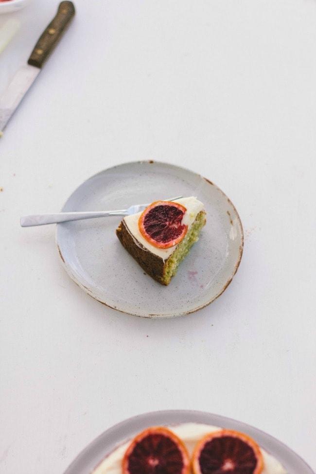 Grand Marnier Orange Cake | the vanilla bean blog