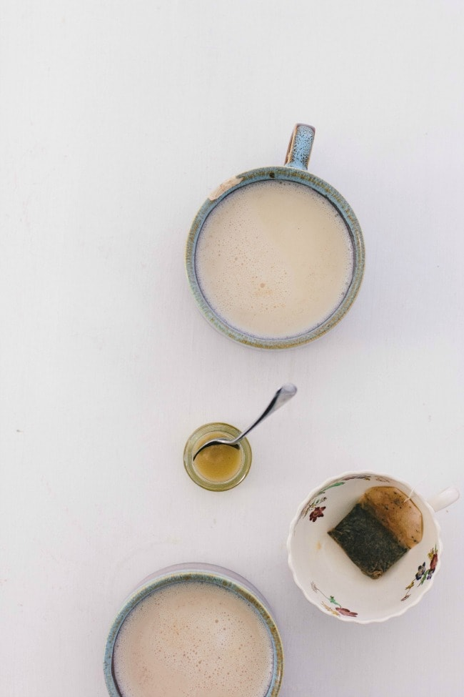 chai tea latte | the vanilla bean blog