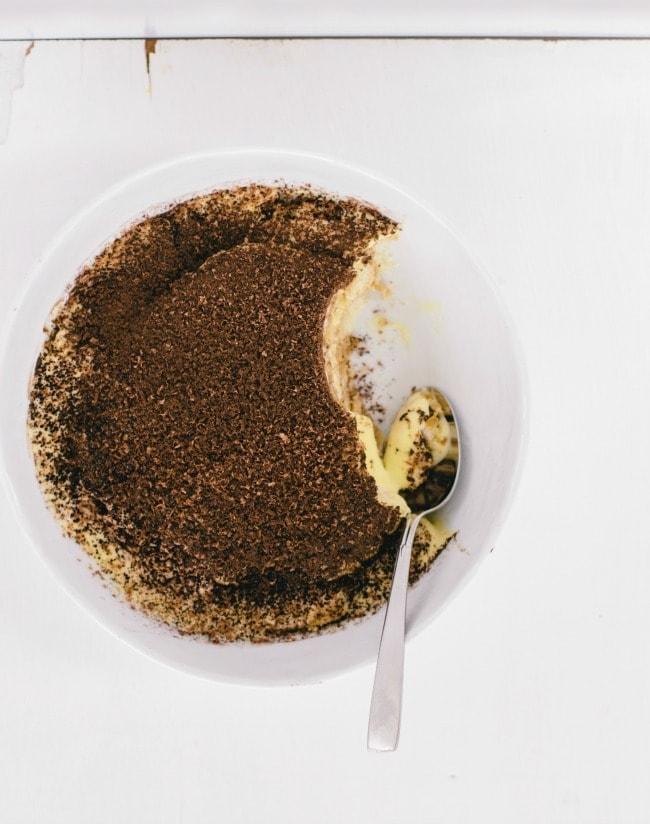 One Bowl Tiramisu | The Vanilla Bean Blog | Sarah Kieffer