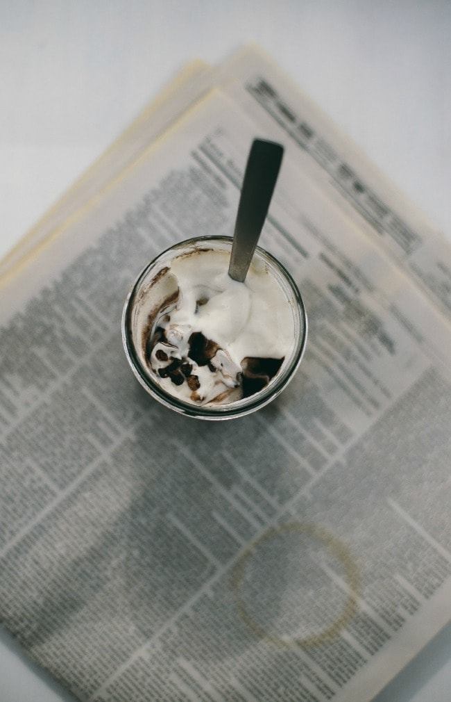 coffee pudding | the vanilla bean blog