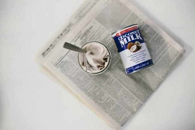 coconut coffee pudding  | the vanilla bean blog