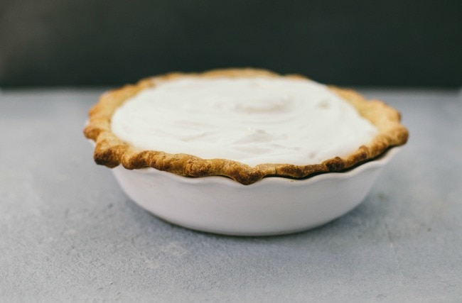 coconut pie | the vanilla bean blog