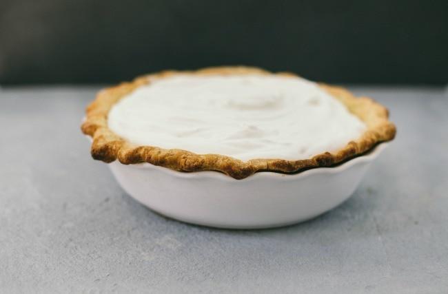 coconut pie | the vanilla bean blog