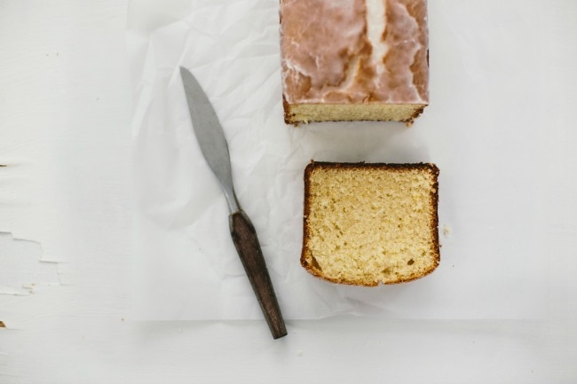 lemon almond bread | the vanilla bean blog