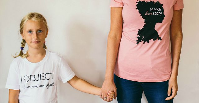 Raise awareness and end demand of human trafficking. My Sister T-shirts #shelivesfree