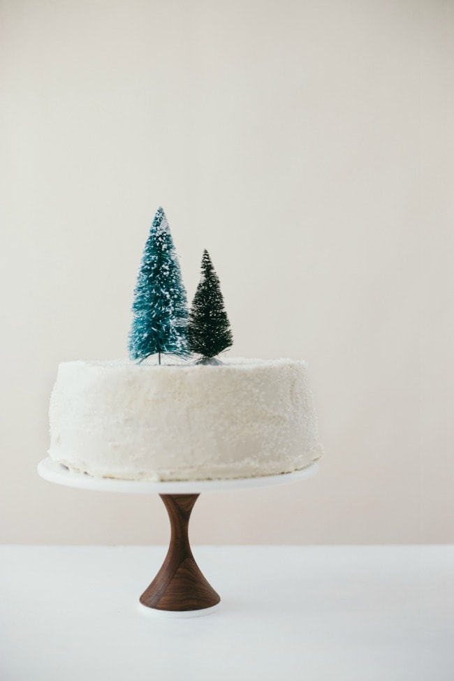 chocolate mint cream cake | the vanilla bean blog