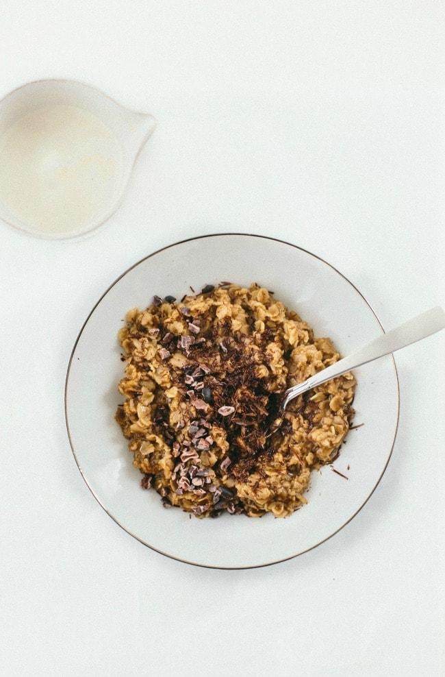 Mocha Oatmeal   the vanilla bean blog