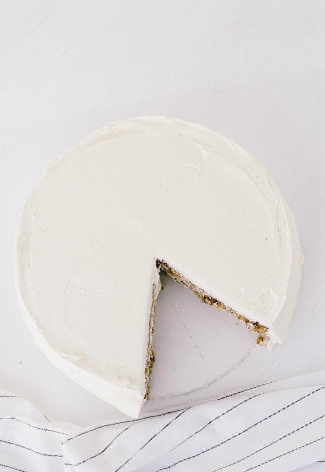 banana cake with penuche frosting   the vanilla bean blog