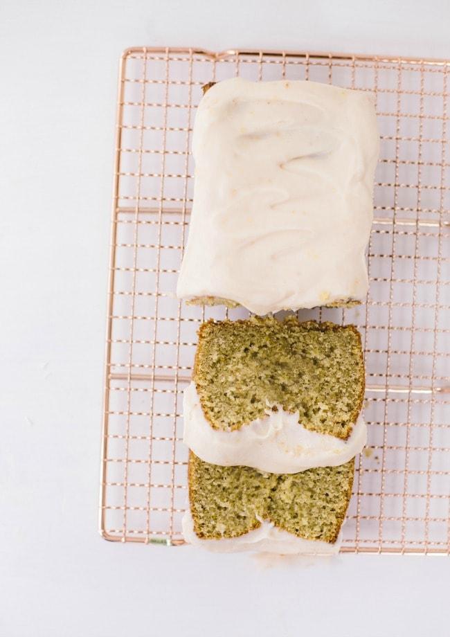 blood orange quick bread with cream cheese icing | Sarah Kieffer | The Vanilla Bean Blog
