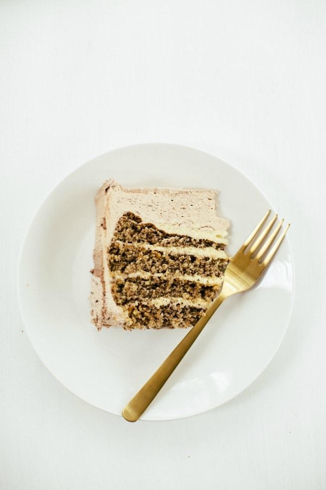 Slice of Hazelnut Cake | Sarah Kieffer | The Vanilla Bean Blog