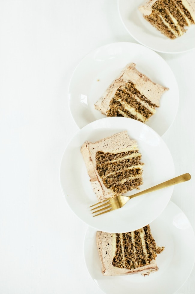 Slices of Hazelnut Cake | Sarah Kieffer | The Vanilla Bean Blog