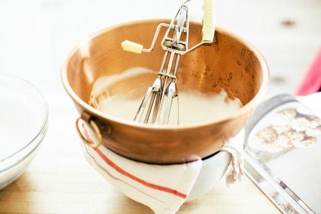Egg Beater in Copper Pot | Sarah Kieffer | The Vanilla Bean Blog