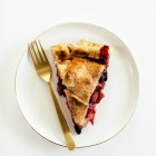 Peach Apple Cherry Pie
