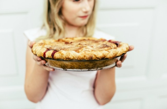 peach-apple-cherry pie