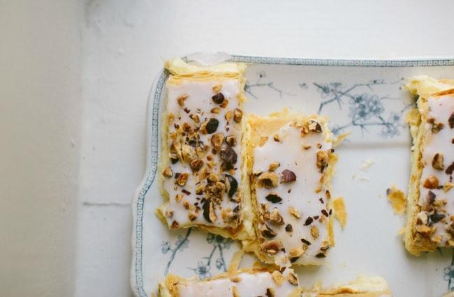 Hazelnut and Vanilla Slice | Sarah Kieffer | The Vanilla Bean Blog