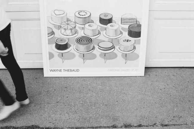 Cakes Painting By Wayne Thiebaud   Photo By Sarah Kieffer