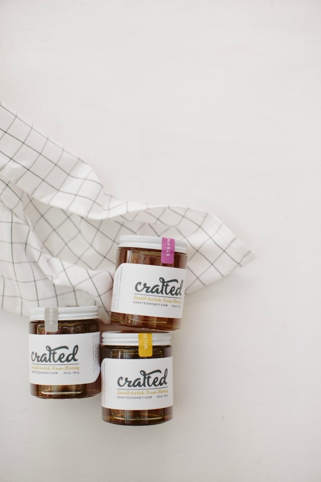 Crafted Honey | Photo by Sarah Kieffer | The Vanilla Bean Blog