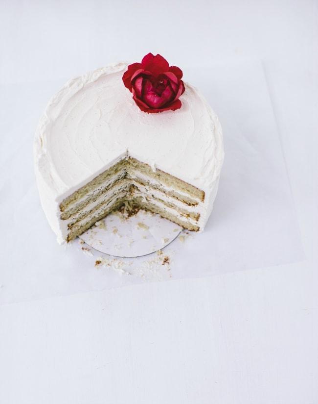 vanilla-bourbon cake