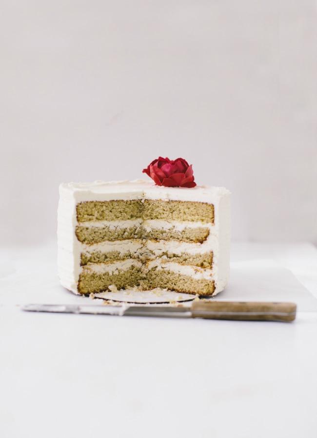 vanilla bourbon cake