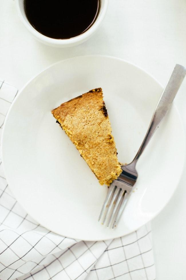 pumpkin skillet cake