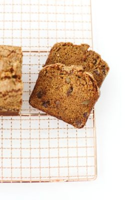 Pumpkin Bread with Chocolate and Ginger | The Vanilla Bean Blog