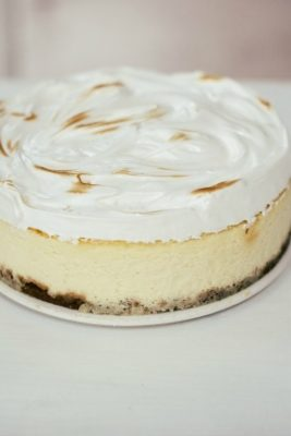 Crème Fraîche Cheesecake Recipe | The Vanilla Bean Blog