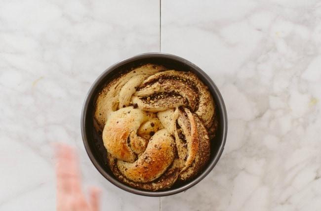 Pistachio Chocolate Twist Bread Recipe | The Vanilla Bean Blog
